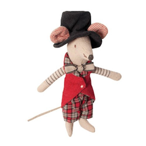 Circus Mouse Manager, 5-Inch
