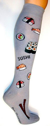 Knee High Socks - Sushi