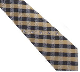New Orleans Saints Tie Woven Poly Check