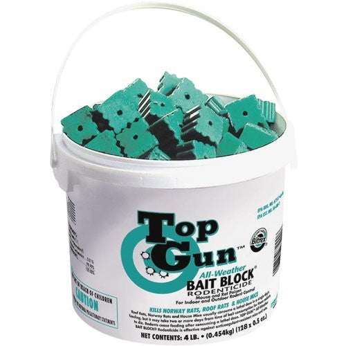 JT Eaton 750 Top Gun All-Weather Rodenticide - Bait Blocks
