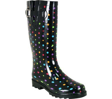 Western Chief Ditsy Dots Multi Boots Size: 11