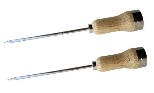 Ice Pick - Wood handle, 9-1/2""
