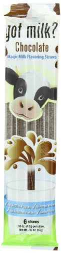 GOT MILK?® MAGIC STRAWS SHELF POP DISPLAY Chocolate