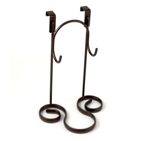 Bella Over the Cabinet Door Styling Rack - Bronze