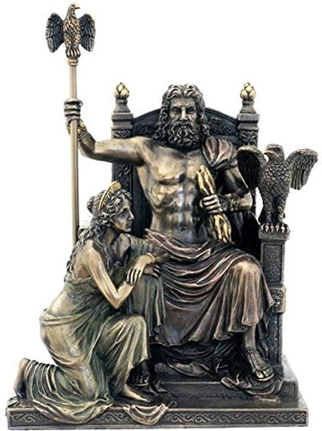 Zeus And Hera At The Throne