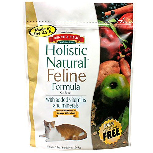 Bench & Field Dry Cat Food Holistic Natural 48.0 OZ