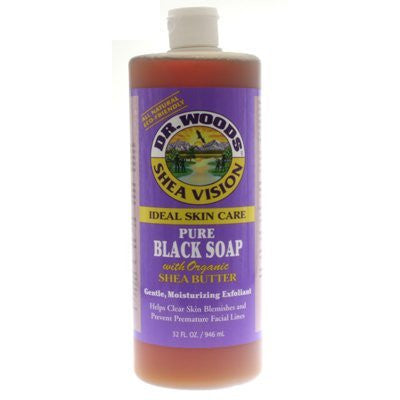 Black Soap w/Shea Butter - 32 oz