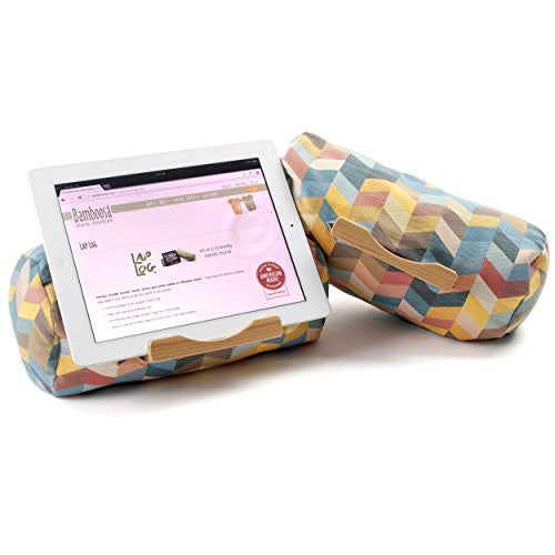 Lap Log Classic- iPad Stand / Touchscreen Tablet Holder (Chevron Seven)
