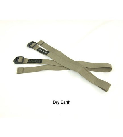 "Accessory Straps, 1"" x 24"", Pair, Dry Earth"