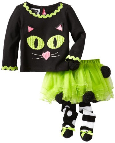 Cat Tutu Set,Size: 12-18 MONTHS