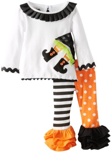 Witch Tunic And Legging Set - 0-6 MONTHS