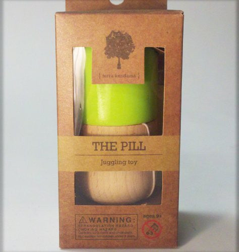 The Pill by Terra Kendama - Kendama USA - Green