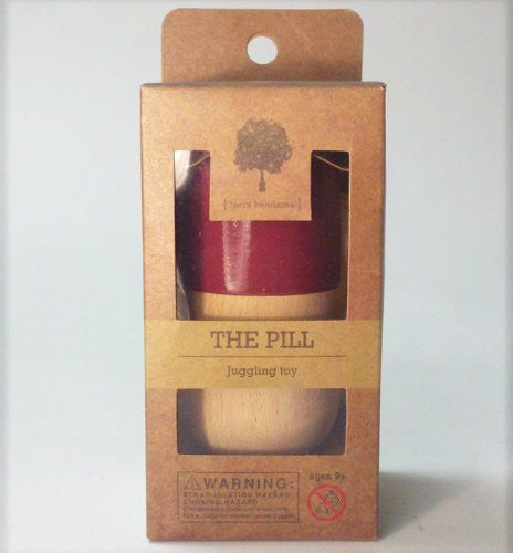 The Pill by Terra Kendama - Kendama USA - Red