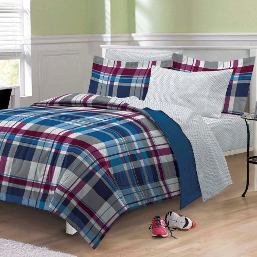 My Room Varsity Plaid Full MIni BIAB