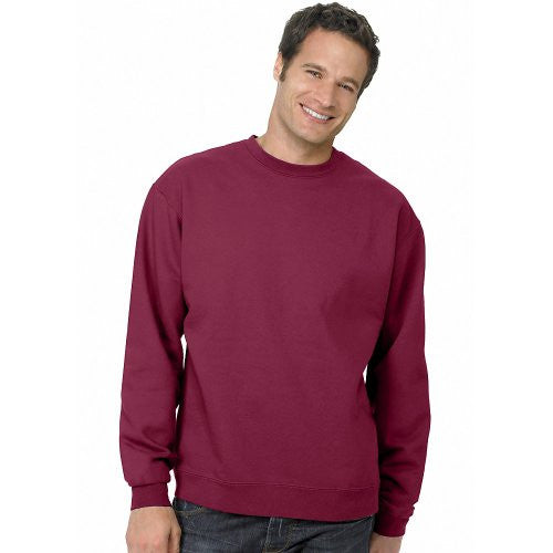 Hanes ComfortBlend Long Sleeve Fleece Crew - p160 (Cardinal / Large)