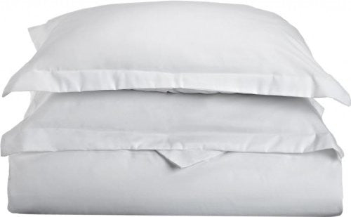 1800TC Duvet Covers King White