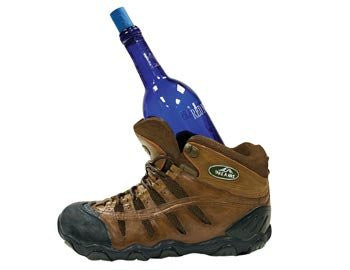 Hiking Boot Wine Holder
