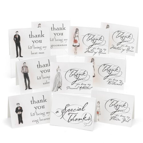 Bridal Party Thank You Set