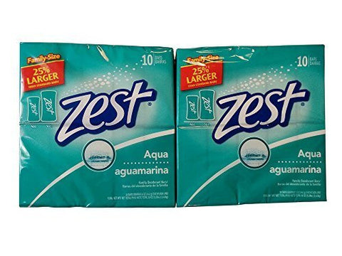 Zest 10-Bar Aqua Bath 5oz