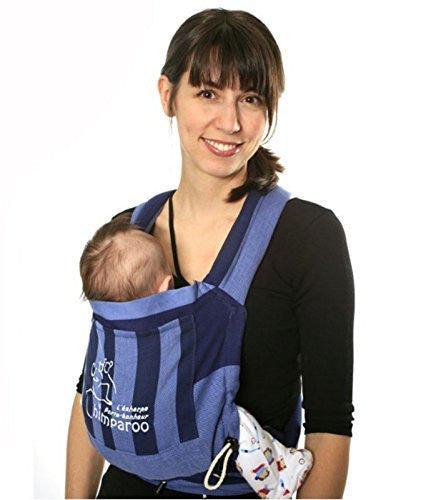 Mei Tai Baby Carrier, Azur (One Size)