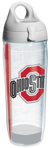 Collegiate Ohio State University Colossal Water Bottle Wrap with Lid
