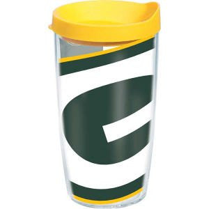 NFL Green Bay Packers Colossal Wrap with Lid 16oz Tumbler