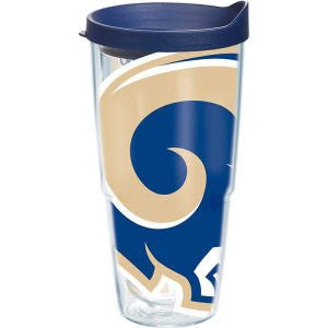 NFL St. Louis Rams Colossal Wrap with Lid 24oz Tumbler