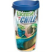 Margaritaville - License to Chill - Wrap with Lid 16oz Tumbler