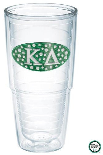 Collegiate Sorority - Kappa Delta 24oz Tumbler