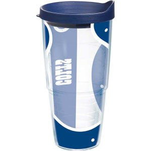 NFL Indianapolis Colts Colossal Wrap with Lid 24oz Tumbler