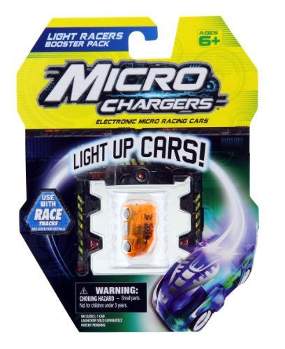 MICRO CHARGERS LIGHT RACERS BOOSTER PK - BLUE RACE