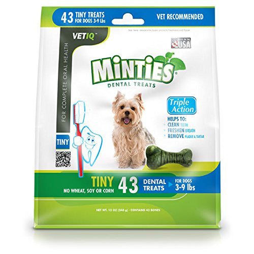 MINTIES DENTAL BONE TINY