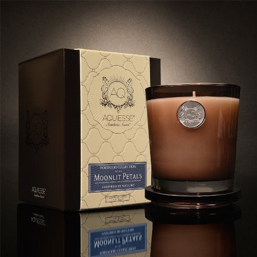 Moonlit Petals 11 oz. Candle w/ Lid in Gift Box