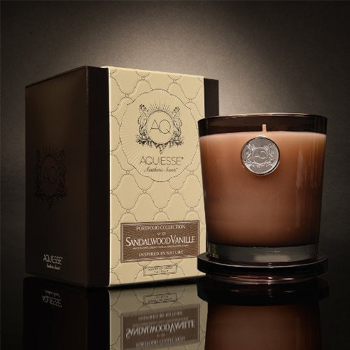 Sandalwood Vanille 11 oz. Candle w/ Lid in Gift Box