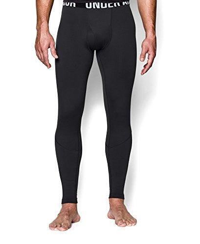 UA Coldgear Infrared Tactical Fitted Leggings - Black, Large
