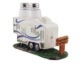 RV 5th Wheel Salt & Pepper Holder