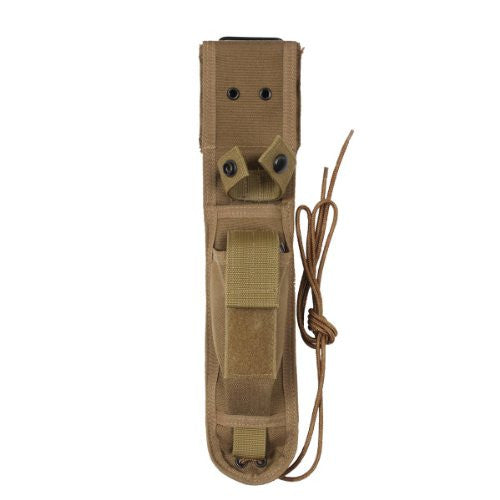 G.I. Type Enhanced Nylon Knife Sheaths - (Coyote Brown)