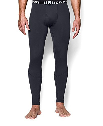 UA Coldgear Infrared Tactical Fitted Leggings - Dark Navy Blue, X-Large