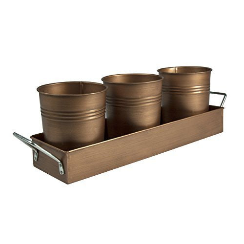 OASIS PICNIC CADDY, ANT. COPPER