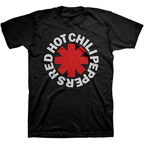 Red Hot Chili Peppers Asterisk Logo Black T-Shirt Size XXL