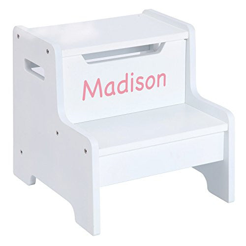 Expressions Step Stool: White