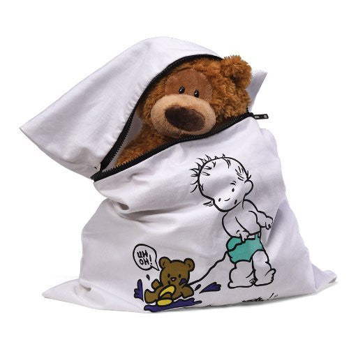"Gund Teddy Needs a Bath Laundry Bag, 20"" x 22"""