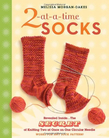 2-at-a-Time Socks - Melissa Morgan-Oakes (Spiral Bound)