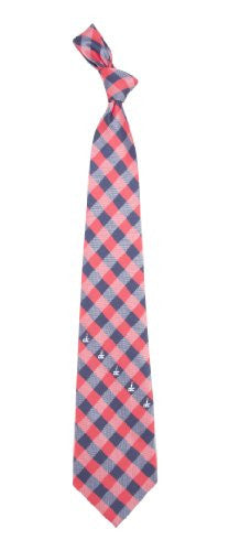 Washington Nationals Tie Woven Poly Check