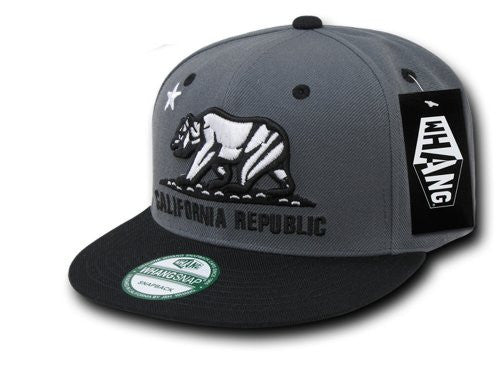WHANG California Republic Snapbacks (CHA / BLK)