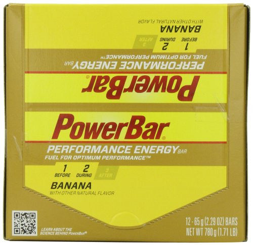 PERFORMANCE BAR BANANA (Pack of 12)