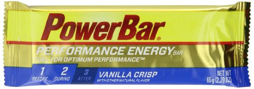 PERFORMANCE BAR VANILLA CRISP (Pack of 12)