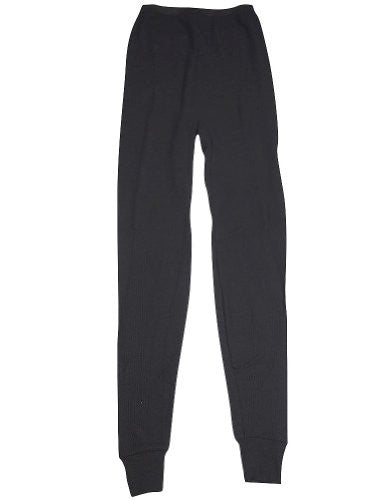 Indera - Womens Thermal Long John Pant 5000DR (Black / Large)