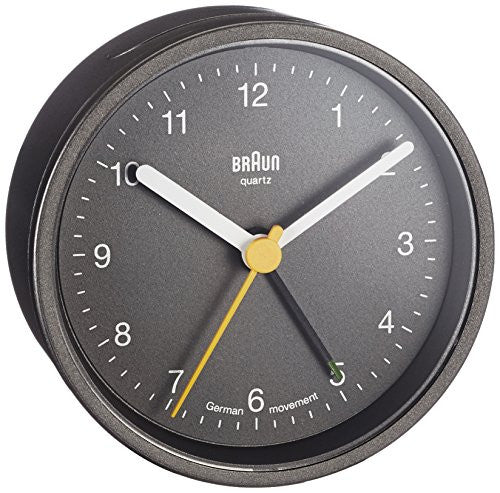 Braun Grey Alarm Clock