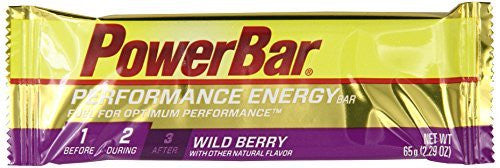 PowerBar Performance Energy Bar, Wild Berry, 2.29 Ounce Bar (Pack of 12)